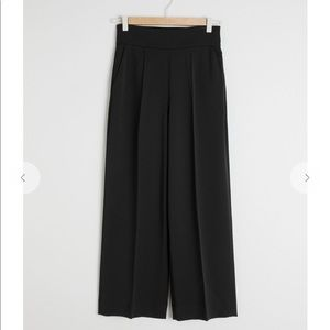 NWOT & Other Stories cropped high waisted pants